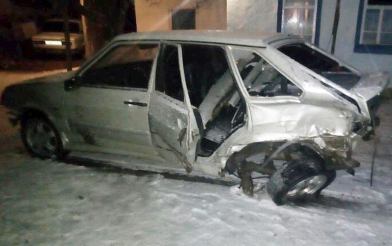 ВКочубеевском районе несовершеннолетний шофёр спровоцировал ДТП