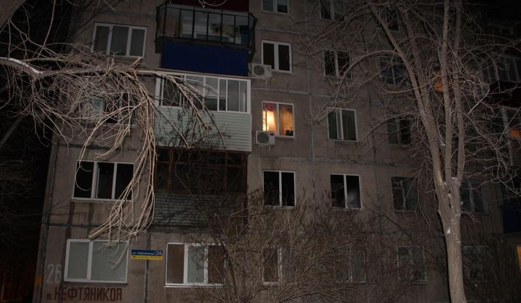 Впроцессе пожара вОрске умер пенсионер