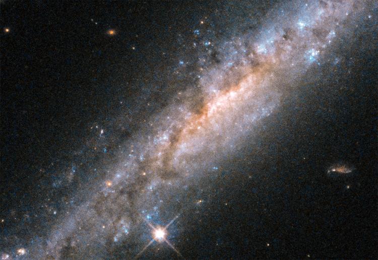 ВNASA показали уникальные кадры «взрывной» галактики