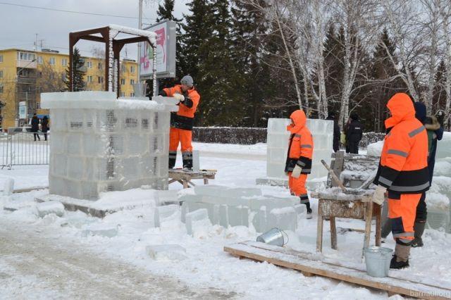 Строительство основного снежного городка Барнаула начинают 5декабря