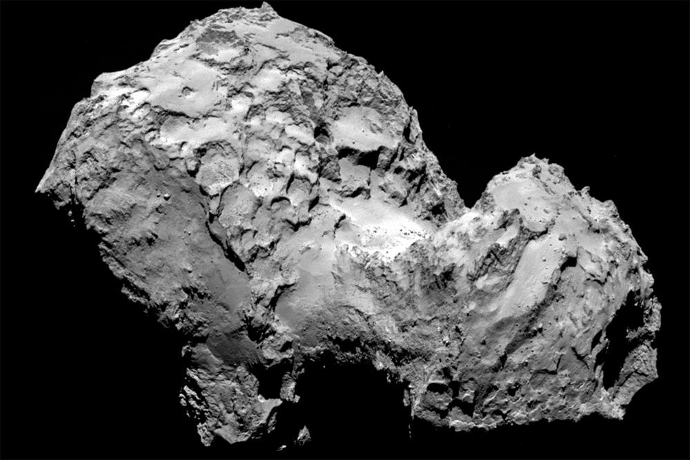 Астрофизики: Комета Чурюмова-Герасименко на55% состоит изминералов