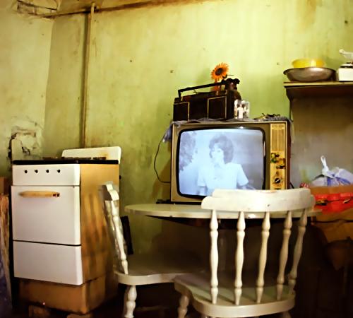 Мертвый гражданин Сланцев неделю просидел перед включенным телевизором