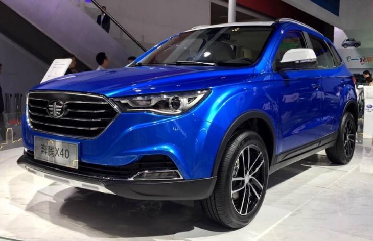 Весной 2017 года вКитайской народной республике стартуют продажи кроссовера FAW Besturn X40