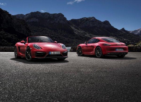 Porsche объявила о выпуске моделей 718 Boxster и 718 Cayman