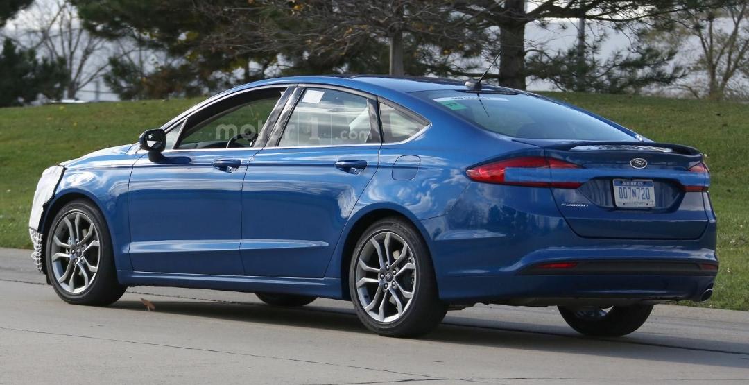 Обновленный Ford Fusion дебютирует 11 января в Детройте