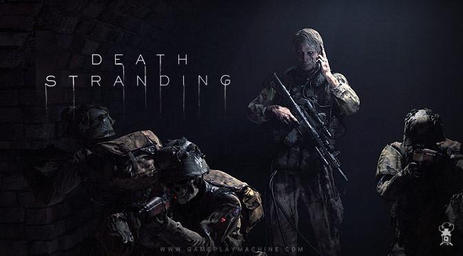 1-ый игровой процесс Death Stranding продемонстрировал сражение смонстрами
