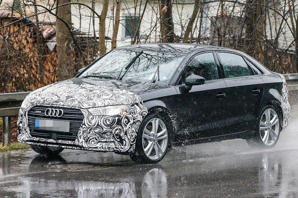 Обновленный седан Audi A3 покажут осенью 2016 года