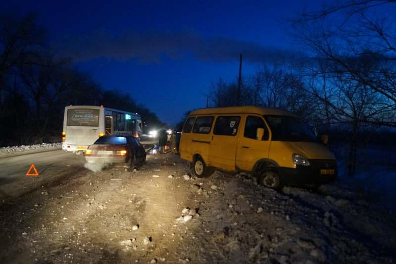 «ПАЗ» спассажирами врезался в«Газель» вСызрани, пострадали 4 человека