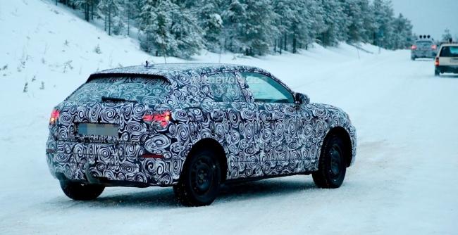 Новый мини-кроссовер Audi Q2 проходит комплексные зимние тесты