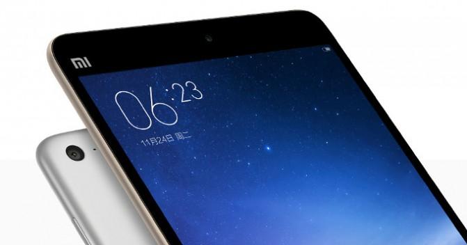 В Сети появились характеристики планшета Xiaomi Mi Pad 3