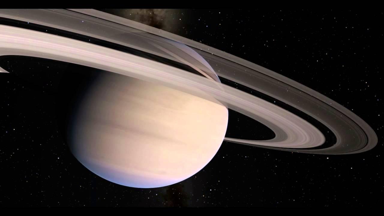 Сатурн обзавелся кольцами сравнительно совсем недавно