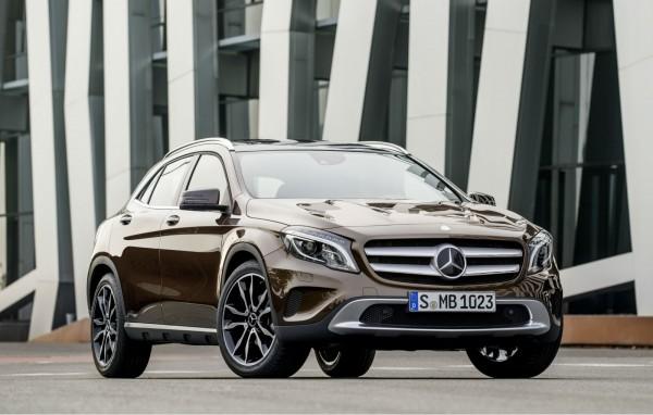 Mercedes-Benz выпустит ряд обновлений GLA для США