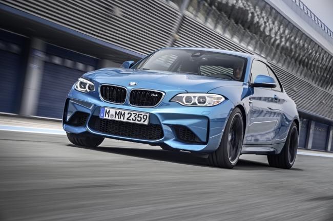 BMW представит на автосалоне в Детройте M2 и X4 M40I