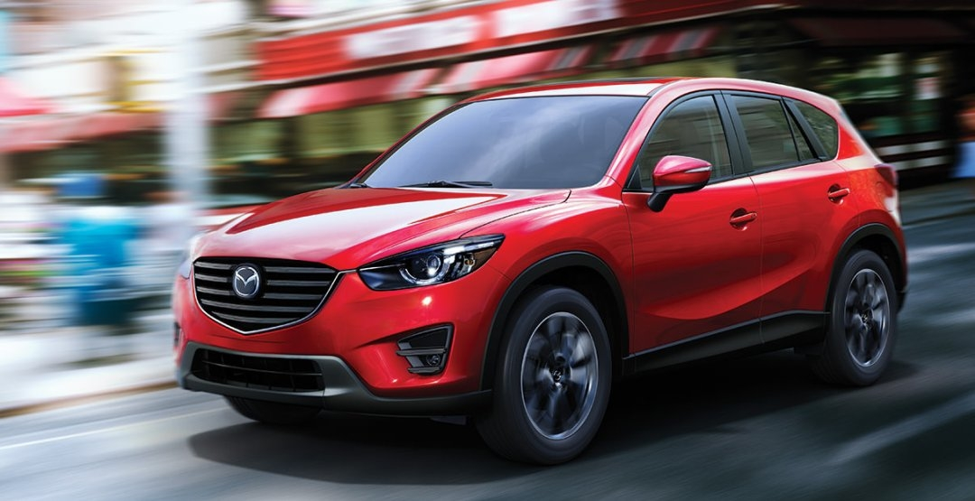 Mazda презентовала обновленный кроссовер 2016.5 CX-5