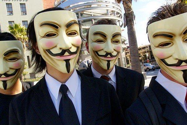 Хакеры Anonymous атакуют японские сайты