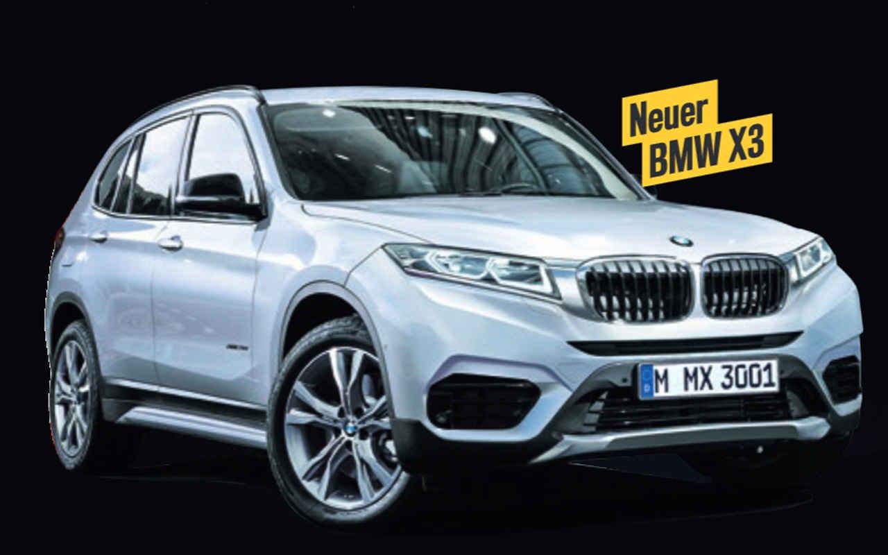 Новый BMW X3 в кузове G01 представят в августе 2017 года