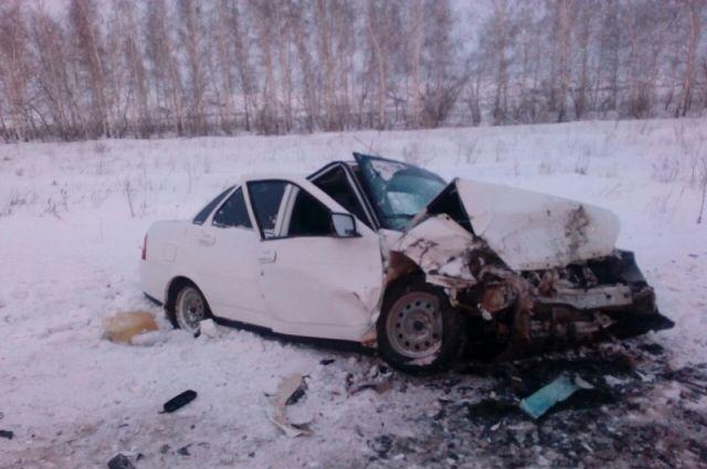 ВДТП сПриорой иОкой натрассе вОренбуржье умер человек