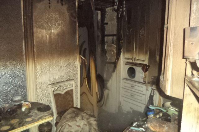ВОрле впожаре вквартире умер 50-летний мужчина