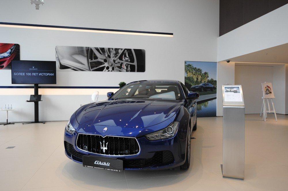 В Минске откроют дилерский центр компании Maserati