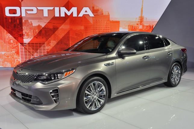 Новые KIA Optima и Sportage приедут в Россию весной 2016 года
