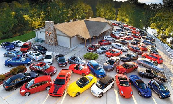 Впрошлом месяце мировой рынок автомобилей  вырос на8.7%