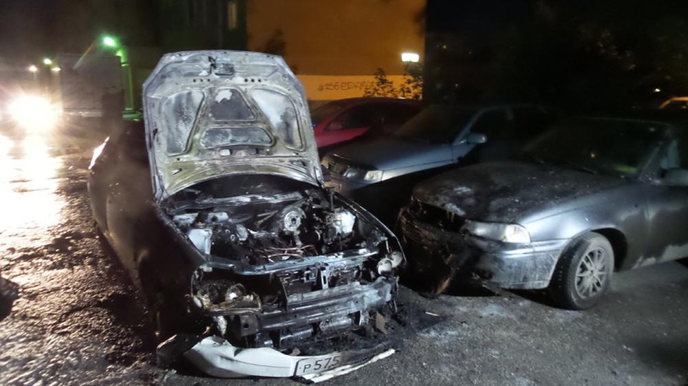 ВМинеральных Водах столкнулись 5 авто
