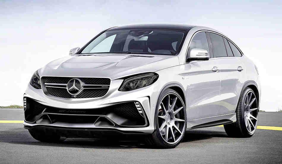 Винтернете появились фотографии «заряженной» версии Mercedes-AMG GLC 63