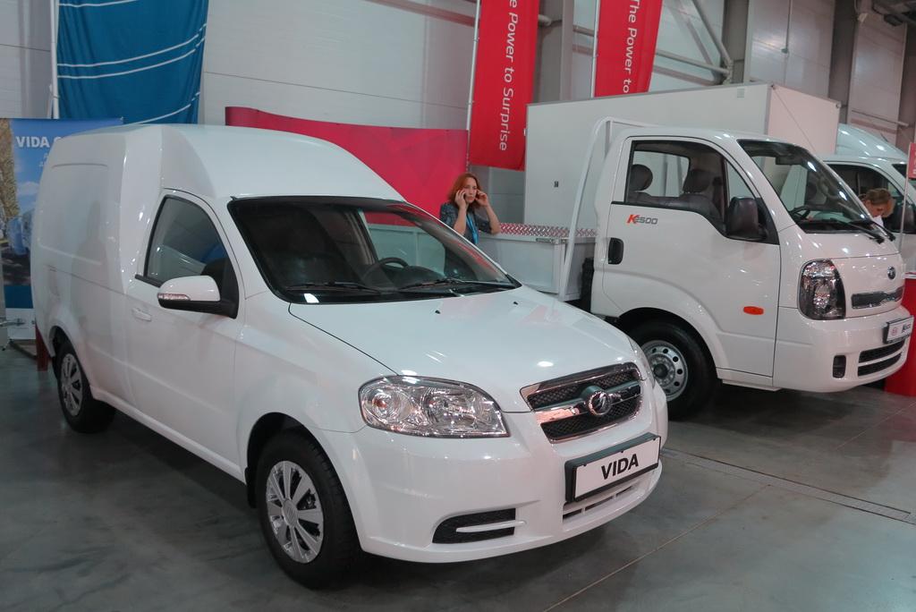 Стартовало производство фургонов ZAZ Vida Cargo