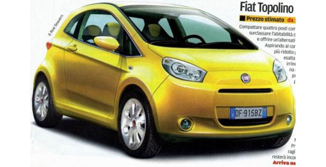 Компания Fiat может возродить ситикар Topolino