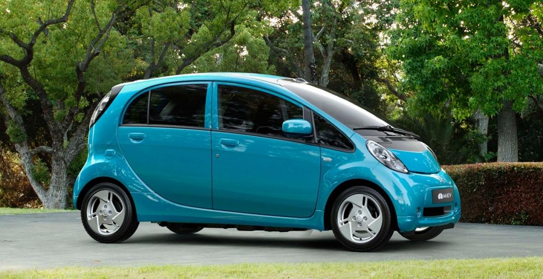 В России к концу этого года продано 344 электрокара Mitsubishi