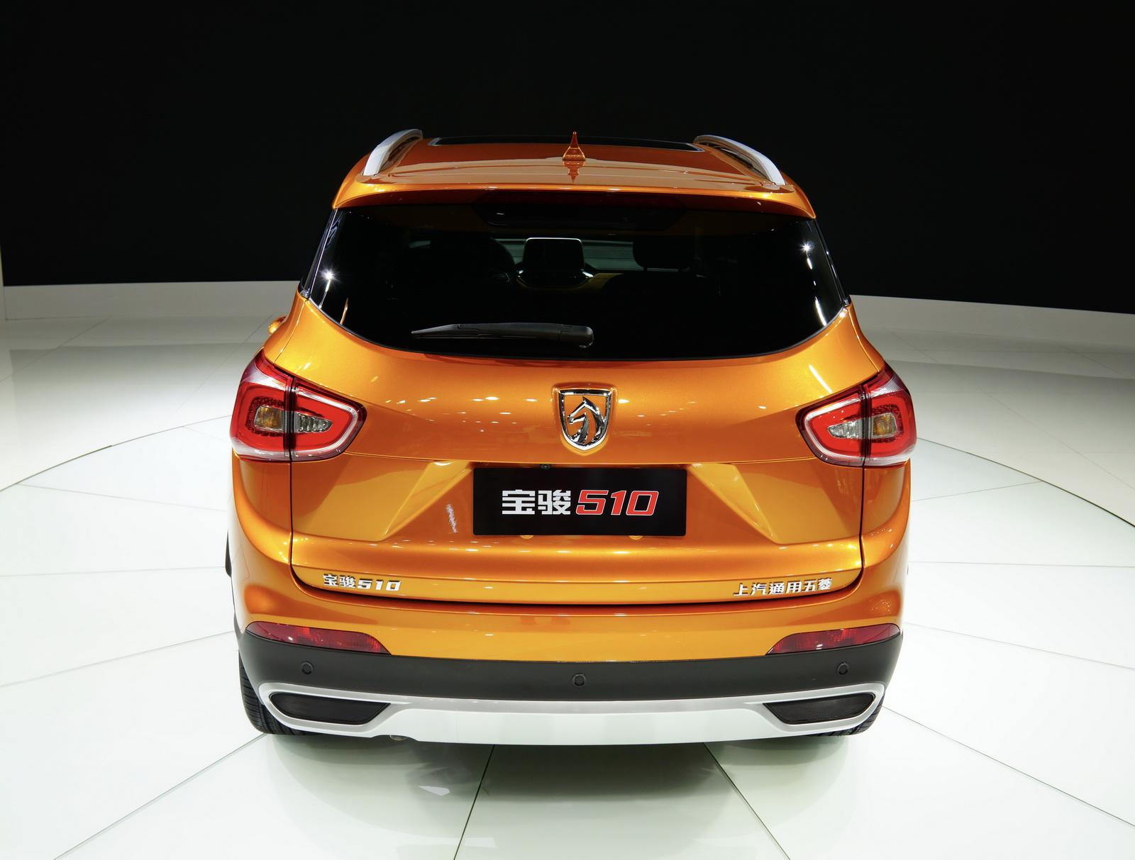 «Живые» продажи компакт-кросса Baojun 510 стартуют кконцу зимы