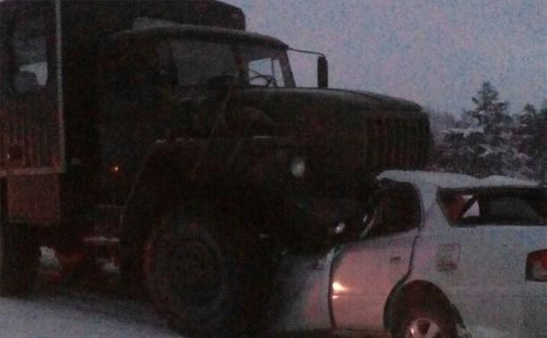 4  человека погибли наСахалине вДТП савтомобилем «Урал»