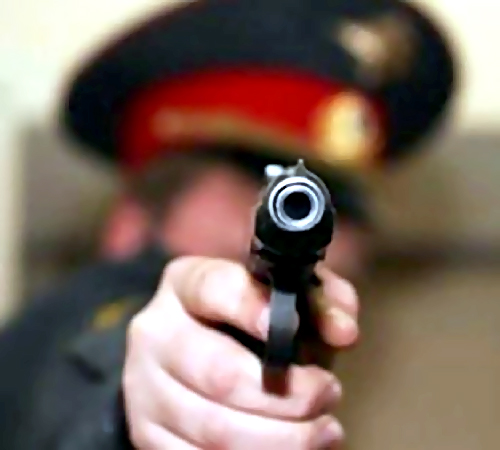 ВПетербурге полицейские применили табельное оружие, чтобы разнять хулиганов