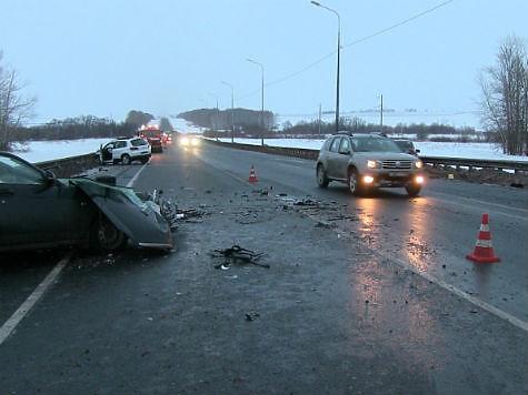 ВСергиевском районе в«тройном» ДТП умер человек