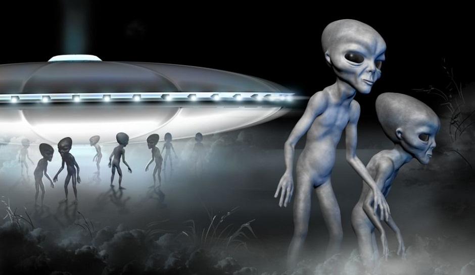 22апреля начнется вторжение инопланетян. Боевые дроны пришельцев уже наЗемле!