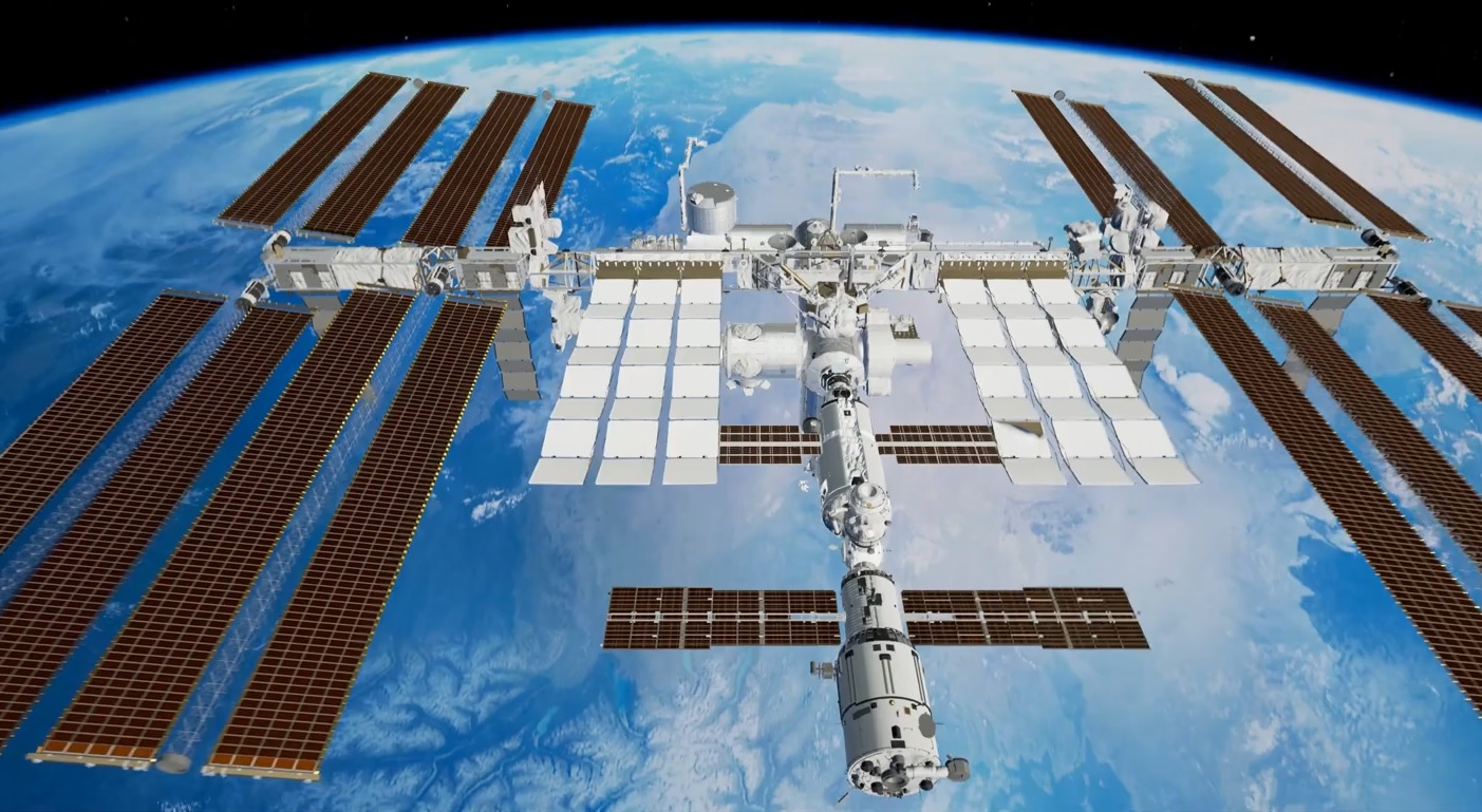 Астронавты NASA запечатлели немалый НЛО круглой формы