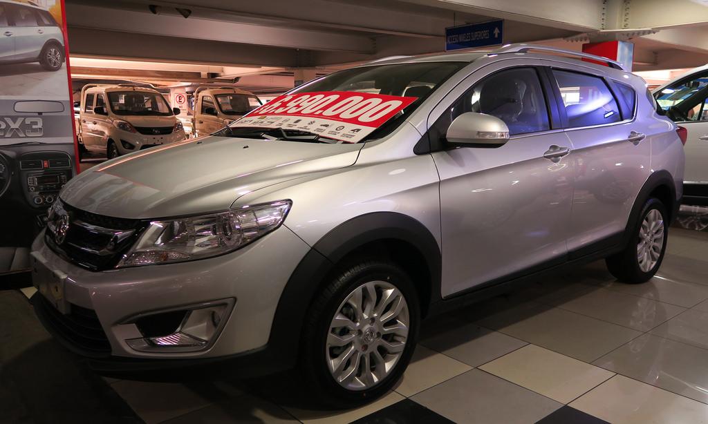 Обновленный кроссовер Dongfeng Forthing T5L скоро появится в продаже
