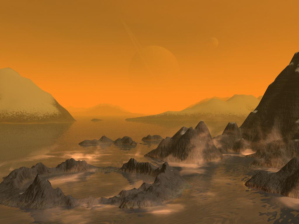 Исследователи обнаружили наивысшую точку на поверхности Титана