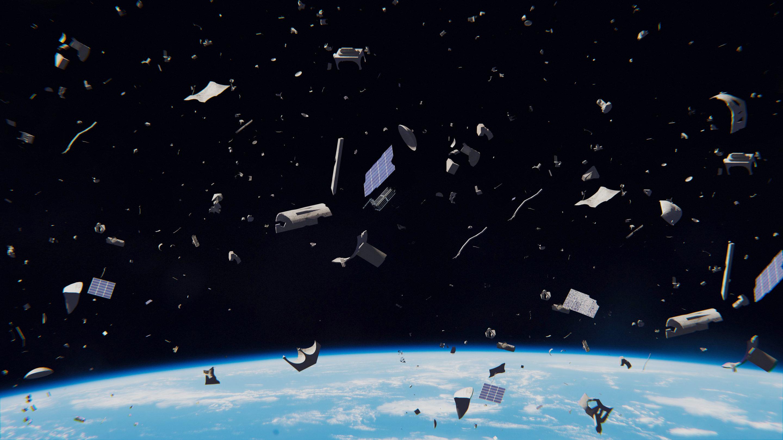 Картинки космос мусор