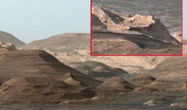 Российский уфолог нашел доказательства существования развитой цивилизации на Марсе