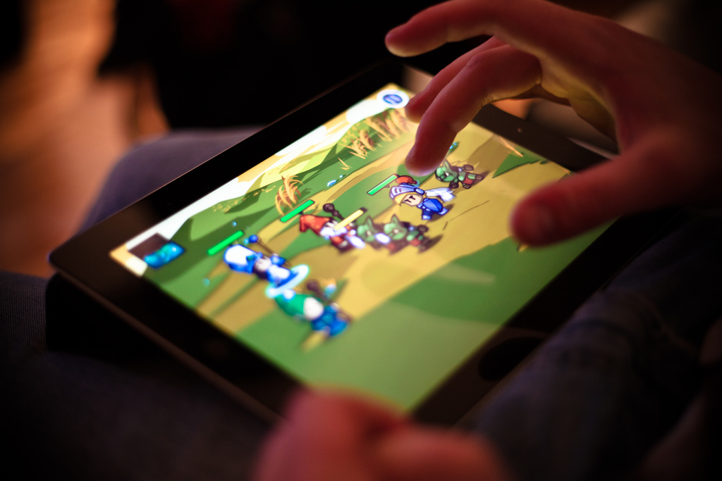 Online games for ipad touch