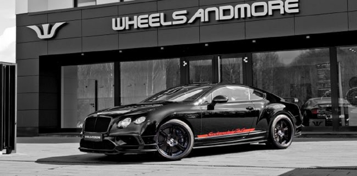 Тюнер Wheelsandmore обновил Bentley Continental 24