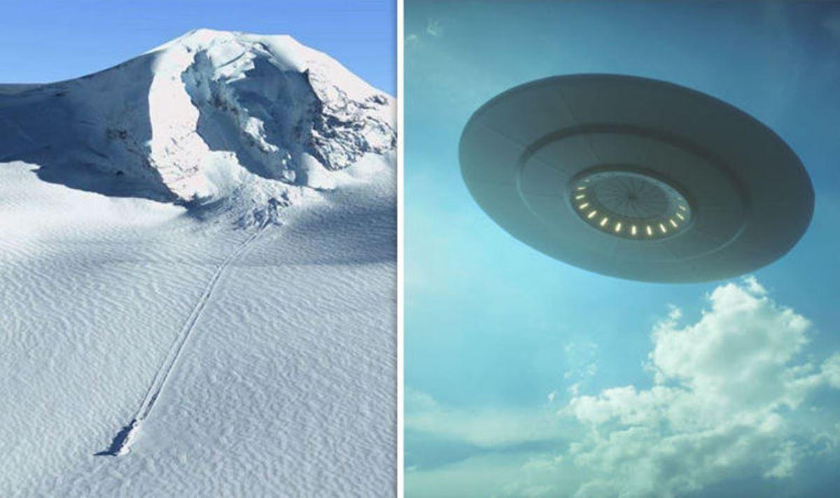 Фото нло в антарктиде