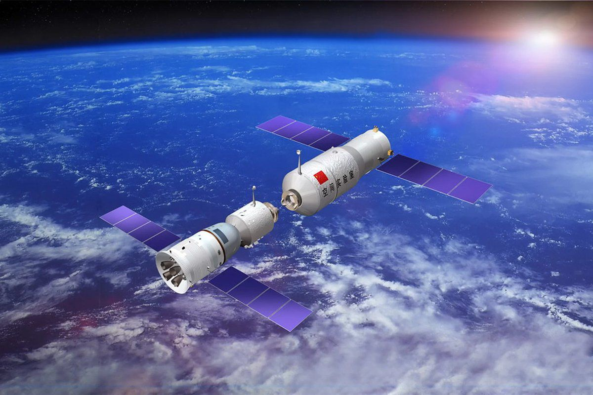 china space station - 817×613
