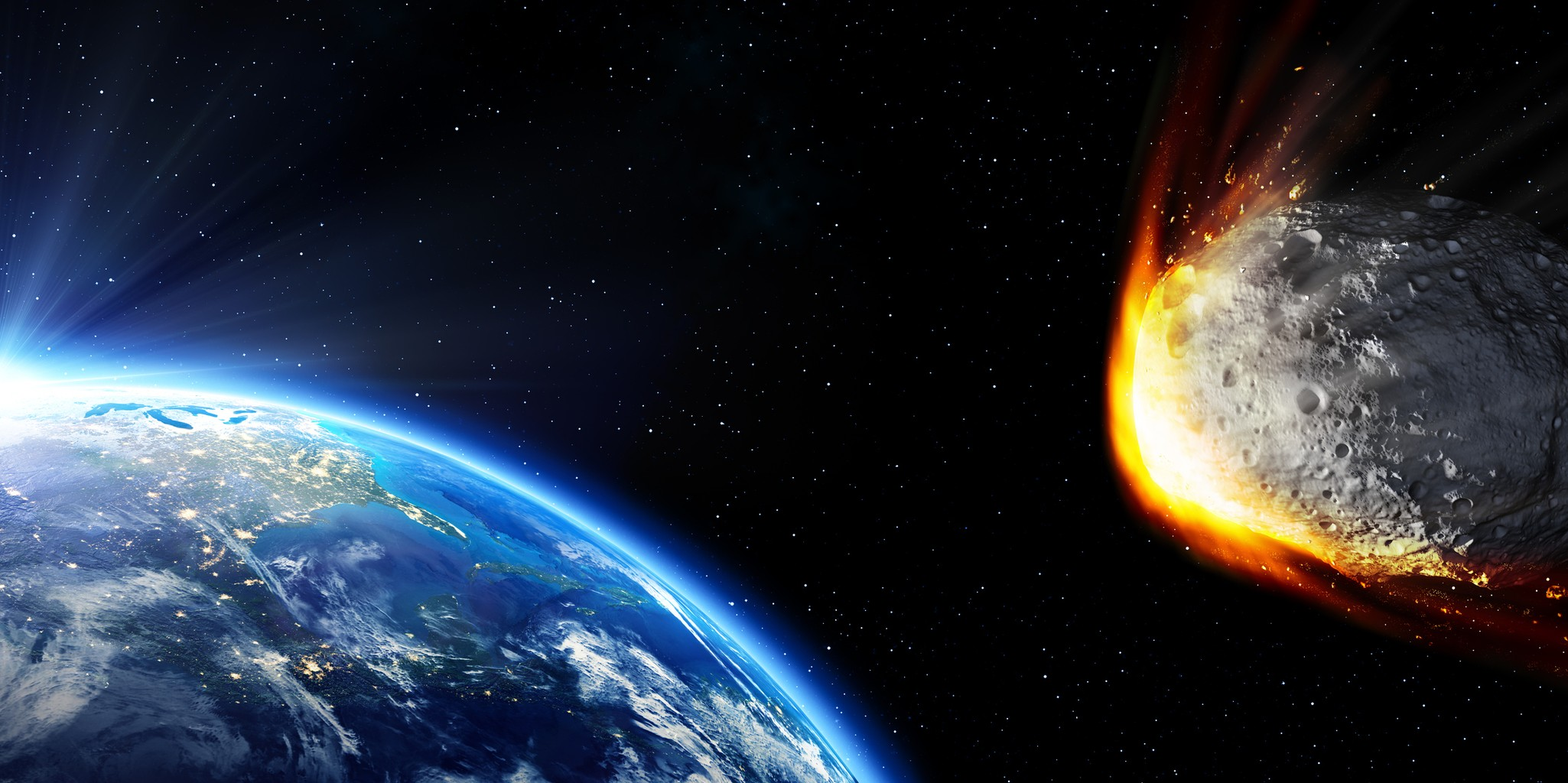 asteroids earth collision - HD 1536×768