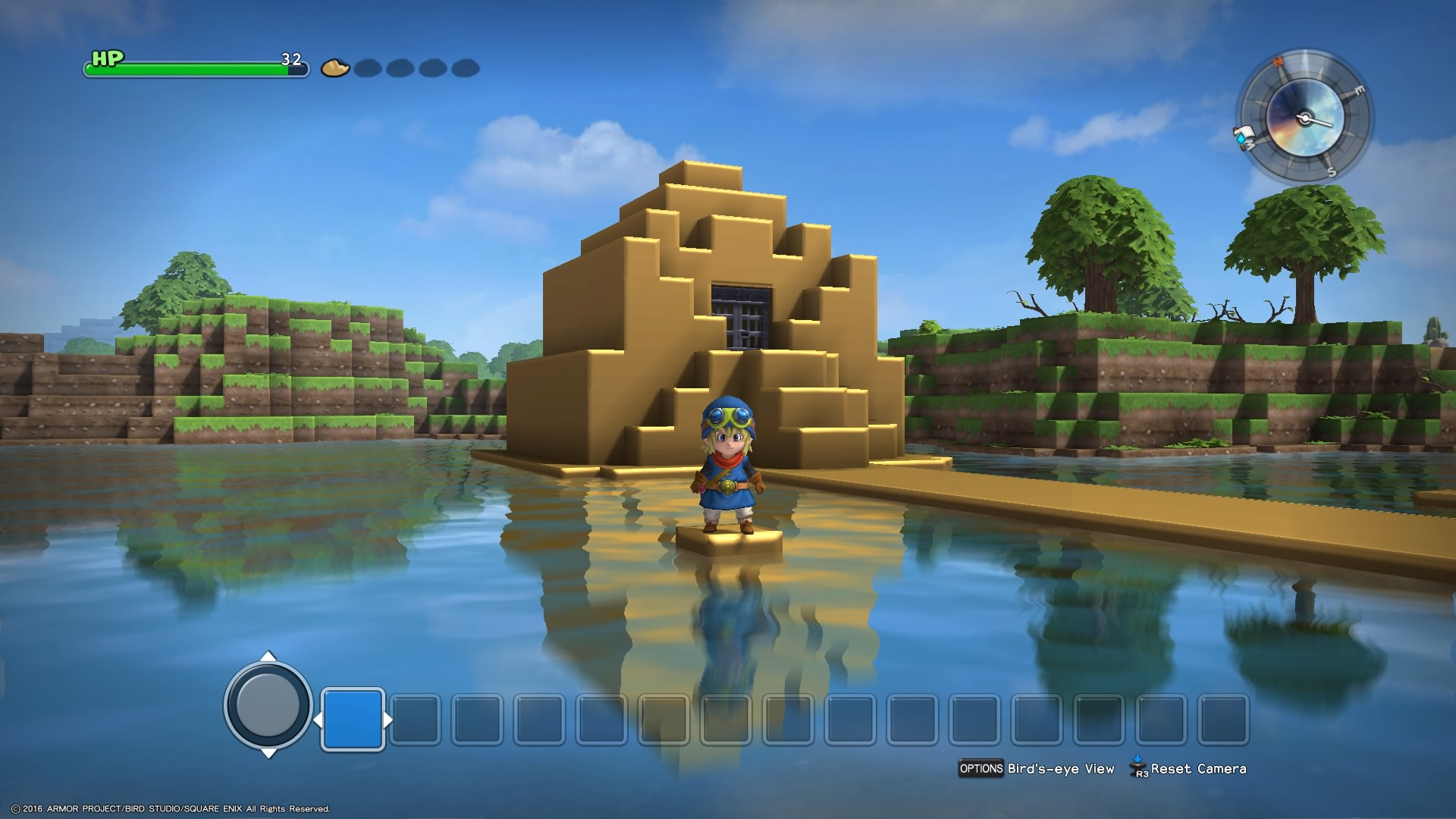 Dragon Quest Builders 2 появится для PS4 и Nintendo Switch