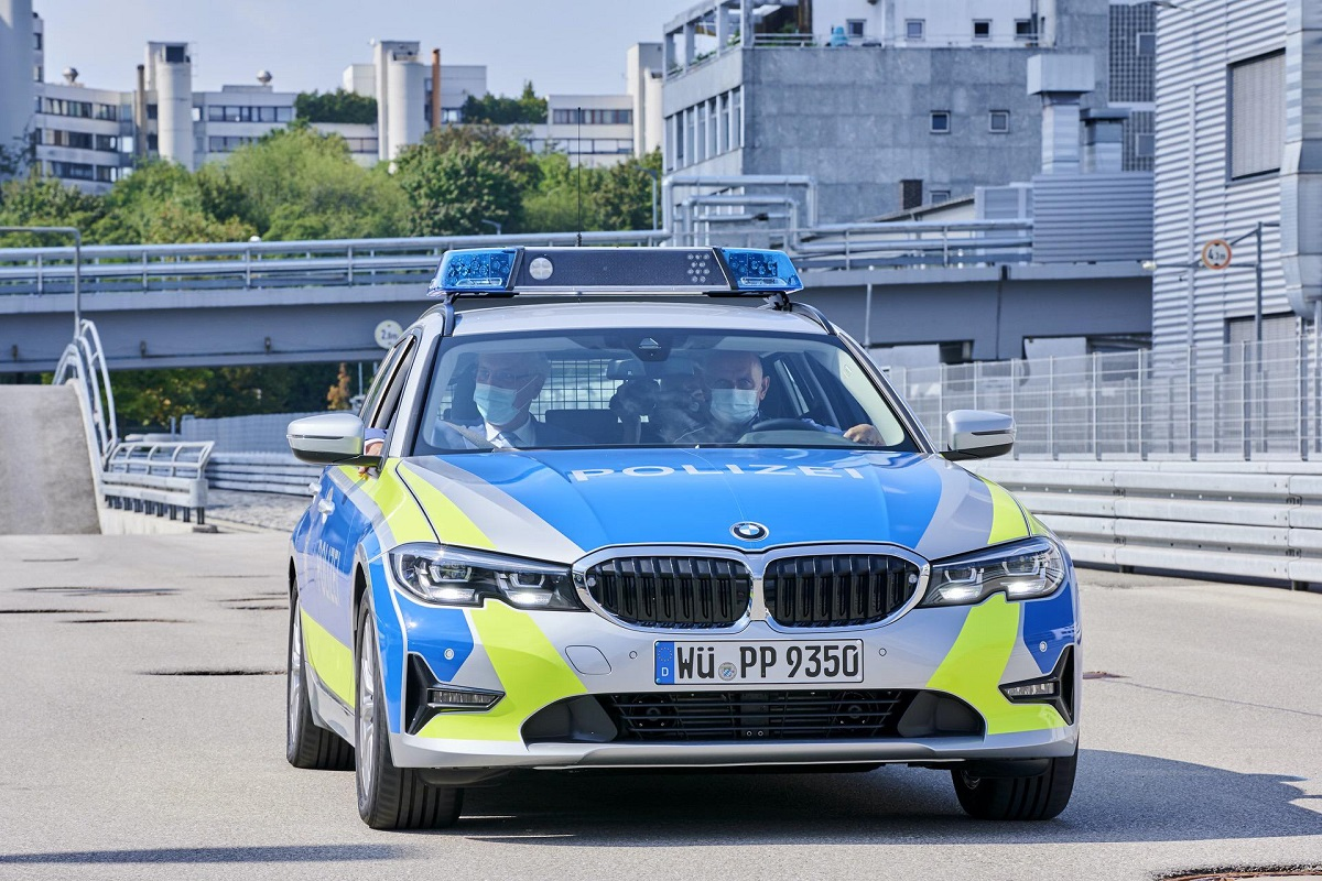 Баварская полиция получила несколько экземпляров BMW 3 Series Touring