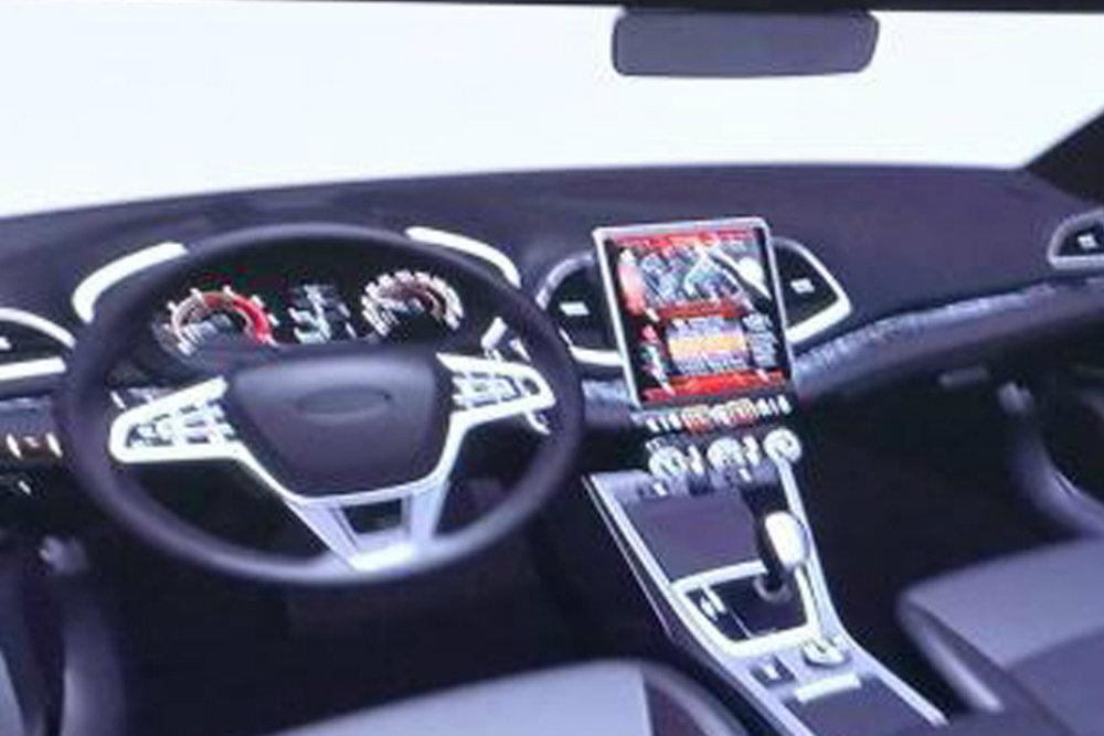 В сети показали рендер салона новой Lada Vesta